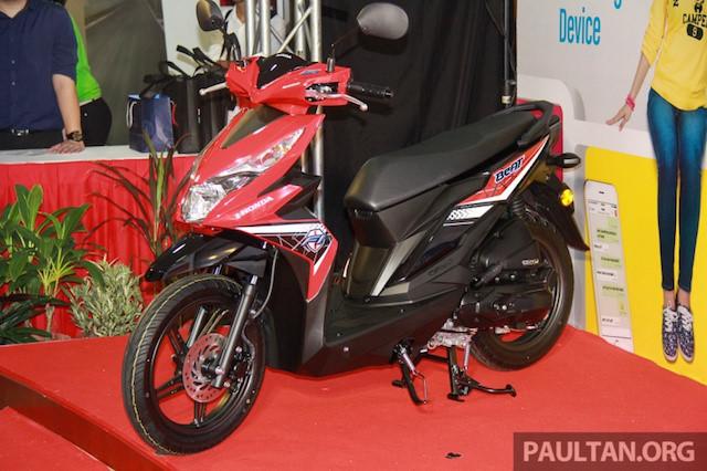 Xe tay ga giá rẻ của Honda ra mắt tại Malaysia 3