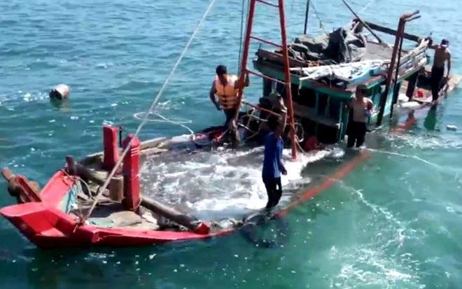Tỉnh Thanh Hóa chỉ đạo điều tra vụ tàu thanh tra va chạm tàu ngư dân 1