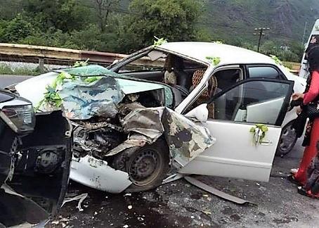 Xe rước dâu gặp tai nạn, cô dâu, chú rể nhập viện cấp cứu 3