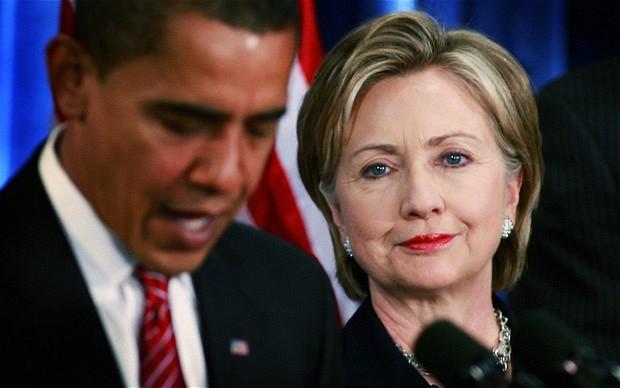 Obama thuyết phục Clinton thừa nhận thất bại trong đêm bầu cử 1