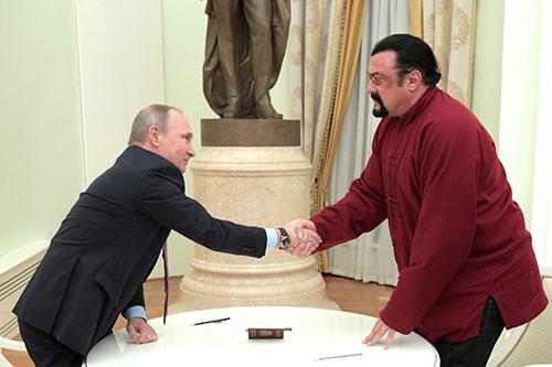 Putin thể hiện thiện chí hàn gắn quan hệ với Mỹ 1