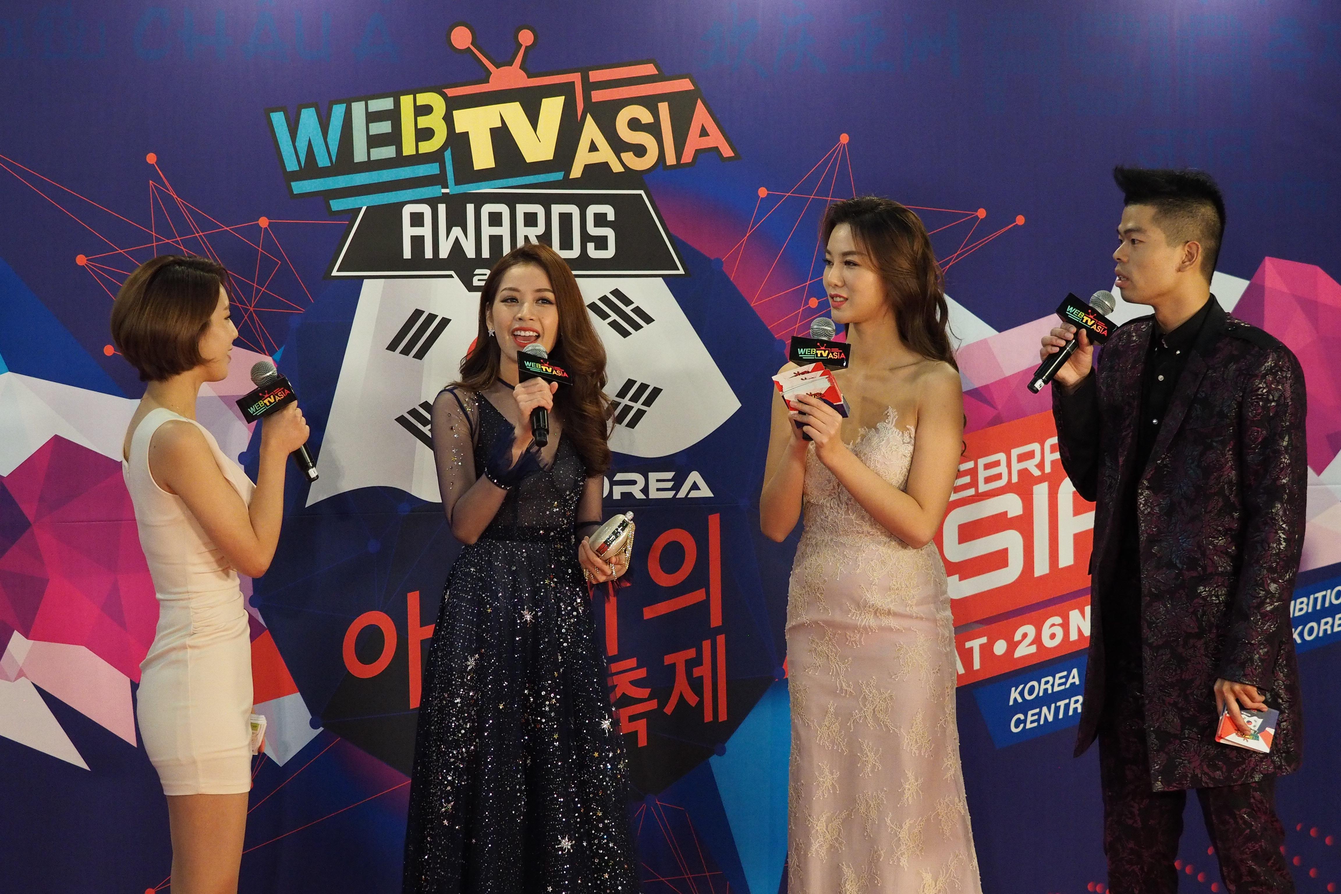 Chi Pu, Sơn Tùng M-TP, Lý Hải được vinh danh tại WebTV Asia Awards 2016 7