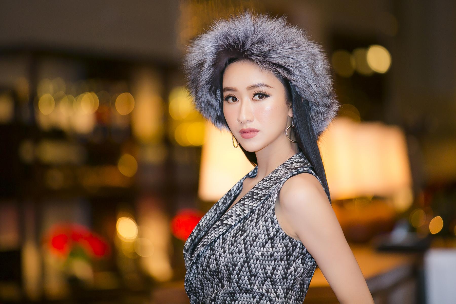 """Giải trí - Á hậu Hà Thu lột xác với hình ảnh """"đả nữ"""" gai góc"""