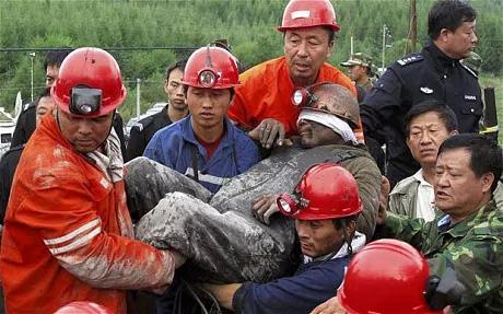 Tai nạn mỏ Trung Quốc, hàng chục người mắc kẹt 2