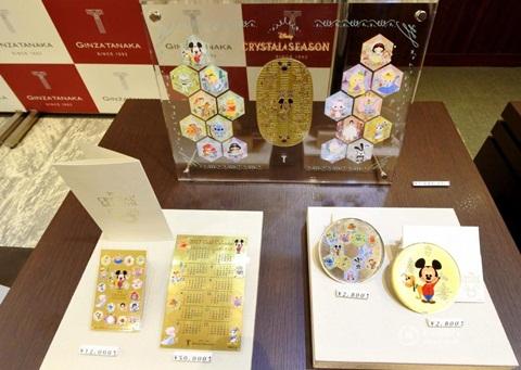 Nhật Bản: Xôn xao mua lịch 2017 vàng ròng có giá gần 5 tỷ đồng 2