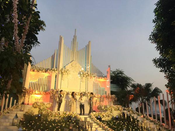 Toàn cảnh đám cưới xa hoa bậc nhất Hà Thành của MC Mai Ngọc 2