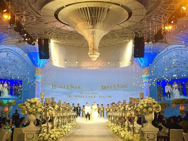 Toàn cảnh đám cưới xa hoa bậc nhất Hà Thành của MC Mai Ngọc 6
