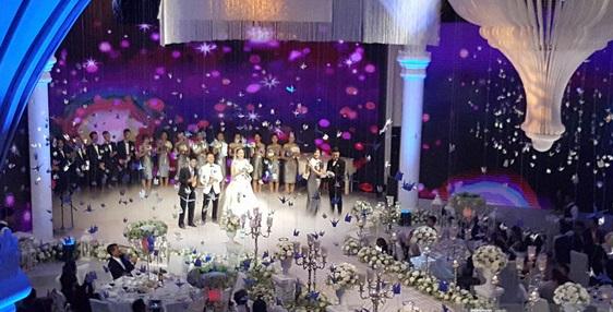 Toàn cảnh đám cưới xa hoa bậc nhất Hà Thành của MC Mai Ngọc 8