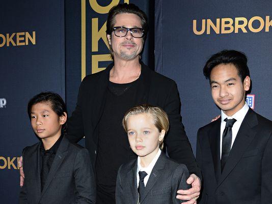 Lộ bản thỏa thuận quyền nuôi con của Brad Pitt và Angelina Jolie 1