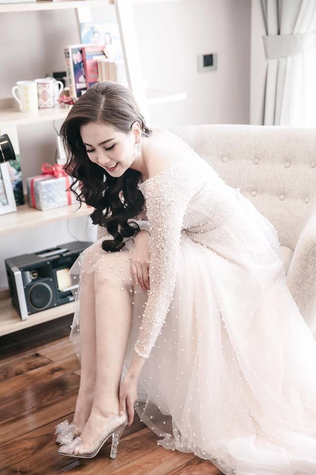 MC Mai Ngọc tung loạt ảnh hậu trường và clip lễ cưới siêu lung linh 13