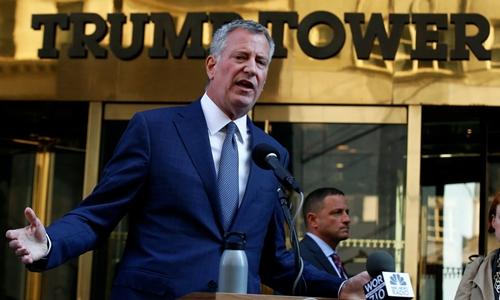New York yêu cầu 35 triệu USD để bảo vệ Trump 1