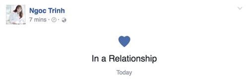 Ngọc Trinh chính thức thừa nhận mối quan hệ mới sau khi chia tay tình cũ 1