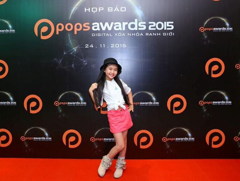 Bé Bảo An, Bào Ngư và Phan Hiếu Kiên nằm trong Top 3 đề cử Ca sĩ nhí của năm 2