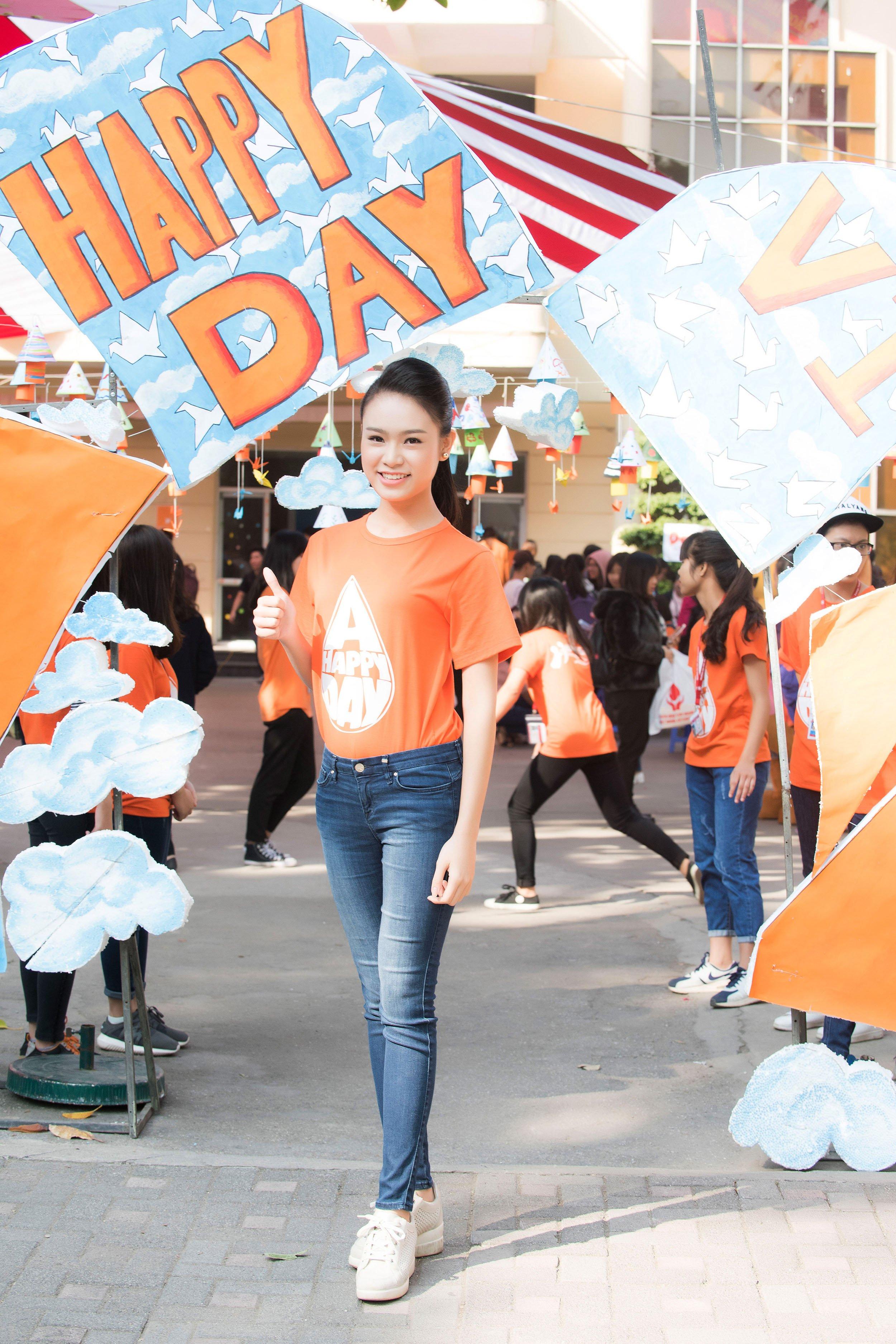 Người đẹp học giỏi của Hoa hậu Việt Nam làm đại sứ ngày hội hiến máu 1