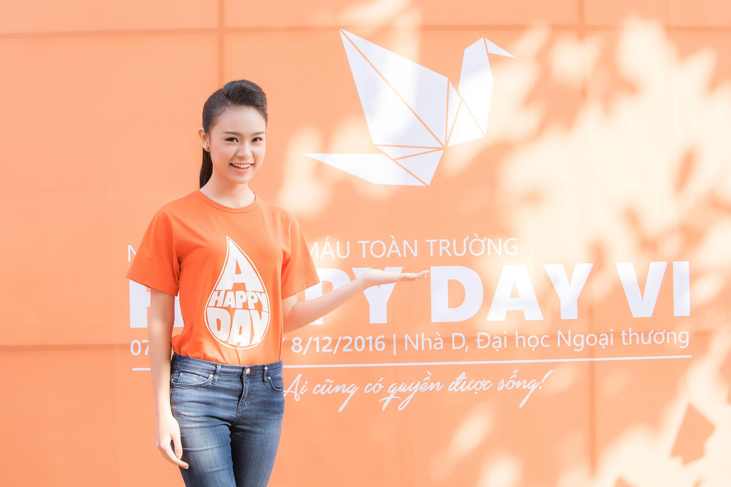 Người đẹp học giỏi của Hoa hậu Việt Nam làm đại sứ ngày hội hiến máu 4