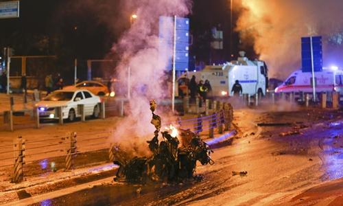 Thổ Nhĩ Kì: đánh bom kép, 29 người thiệt mạng 1