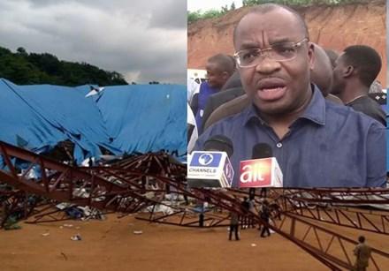 Sập nhà thờ ở Nigeria, khoảng 200 người thiệt mạng 1