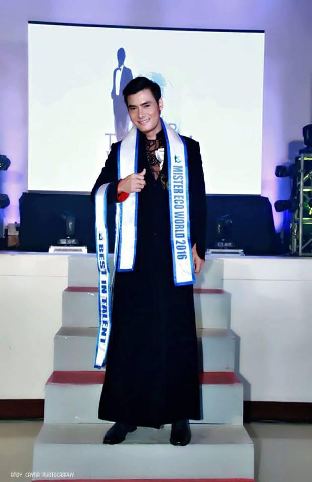 """Bản sao"" Mario Maurer đăng quang Mister Eco Word 2016 2"