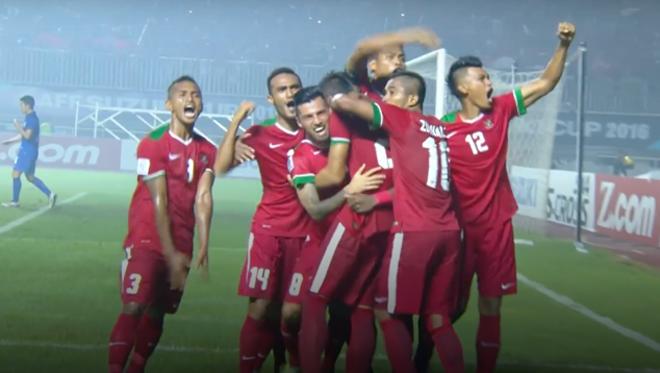 Indonesia ngược dòng ngoạn mục đánh bại Thái Lan trên sân nhà 1