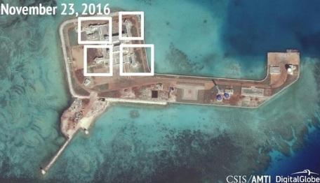 AMTI: Trung Quốc đặt vũ khí trên toàn bộ đảo nhân tạo ở Biển Đông 5