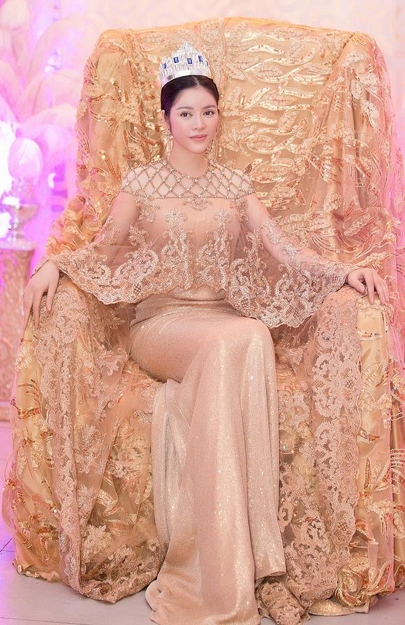 Lý Nhã Kỳ khoe vẻ đẹp 'vạn người mê' trong lễ sắc phong công chúa 7