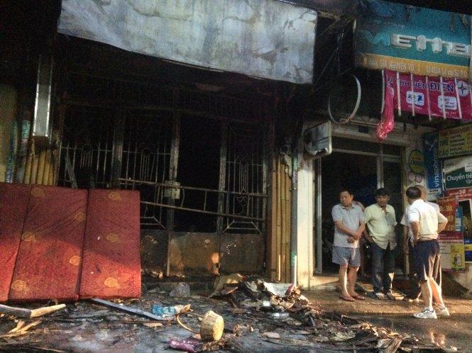 Hiện trường vụ cháy nhà kinh hoàng ở Sài Gòn, 6 người chết 2