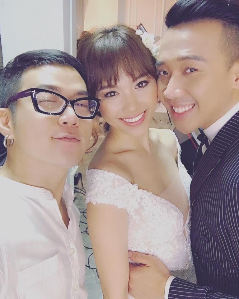 Lộ hậu trường chụp ảnh cưới của Trấn Thành - Hari Won 2