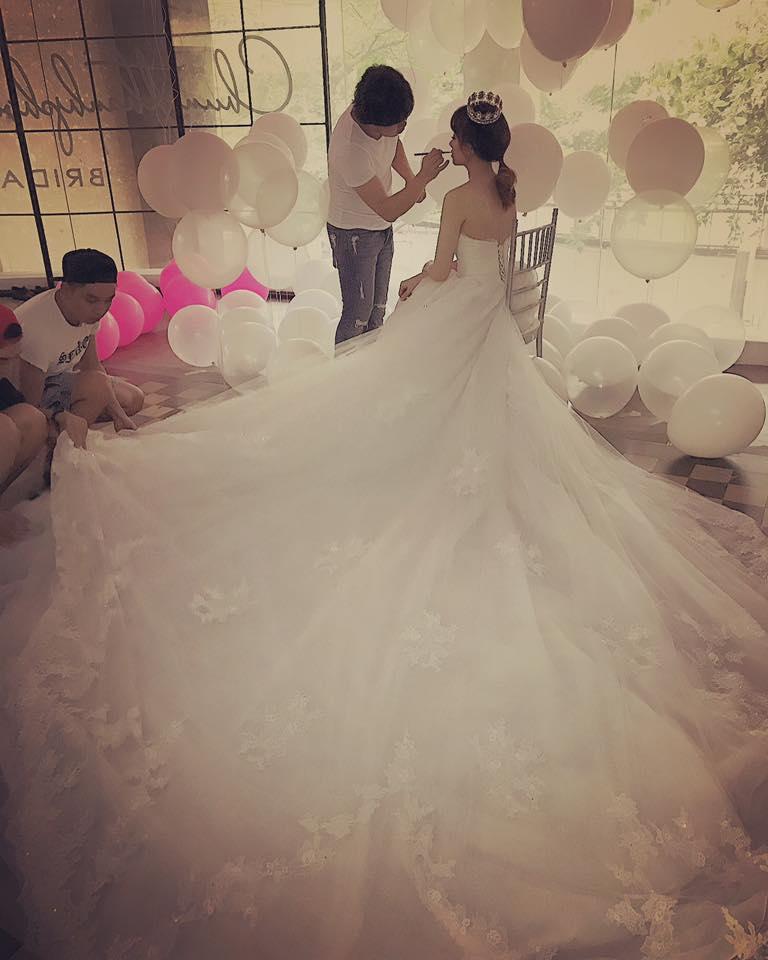 Lộ hậu trường chụp ảnh cưới của Trấn Thành - Hari Won 3