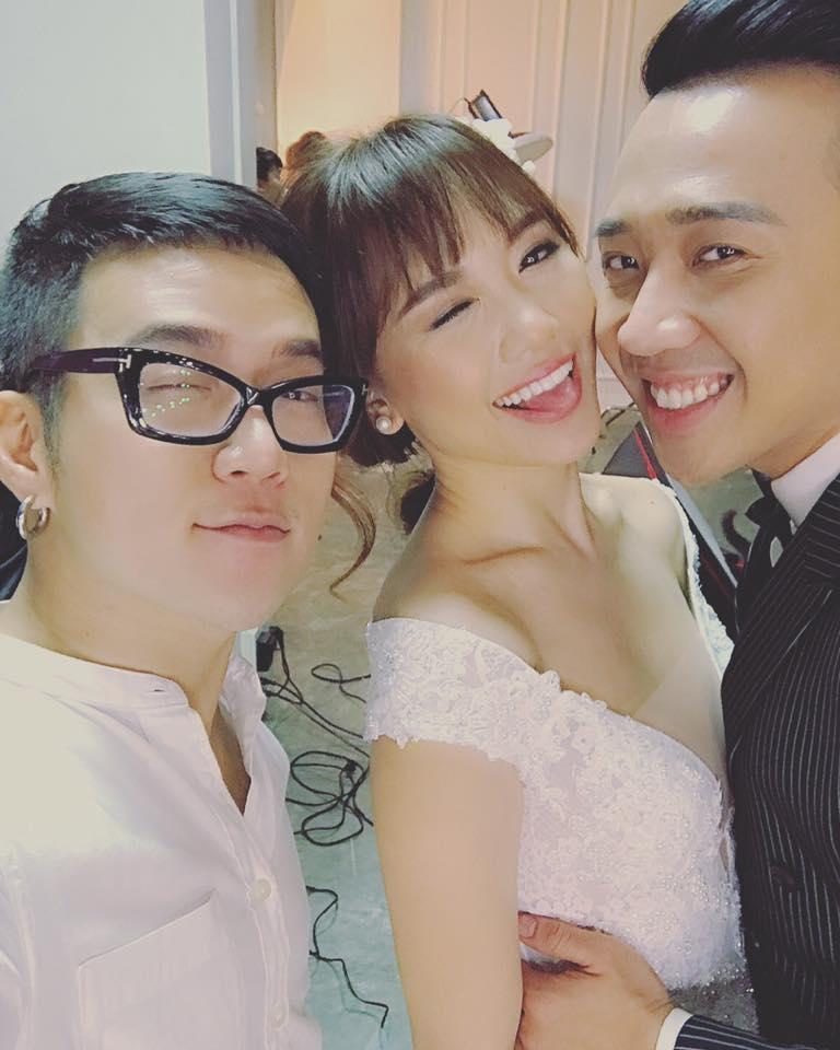 Lộ hậu trường chụp ảnh cưới của Trấn Thành - Hari Won 4