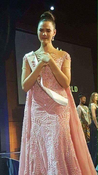 Hoa hậu Philippines bật khóc khi thua cuộc tại Miss World 2016 1