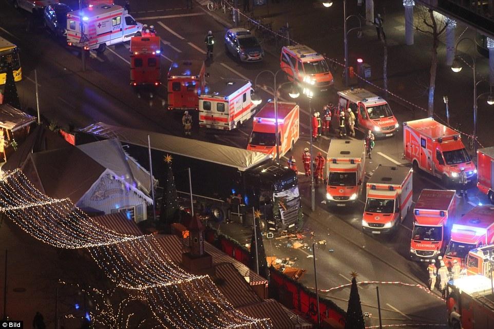 IS lên tiếng nhận trách nhiệm về vụ tấn công chợ Giáng sinh Đức 2