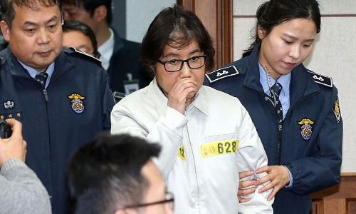 Tòa án ra lệnh bắt con gái bạn thân tổng thống Hàn Quốc 1