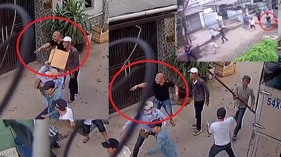 Gần 20 côn đồ truy sát nhóm công nhân giữa trung tâm Sài Gòn 1