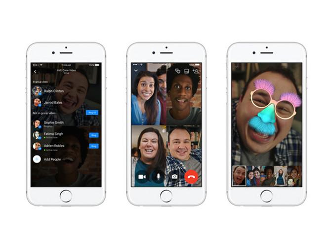 Facebook Messenger cho phép gọi nhóm, cạnh tranh với Skype 1