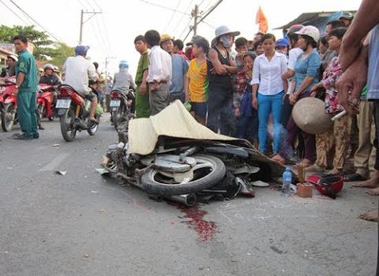 Xe khách gây tai nạn, một người tử vong tại chỗ 1