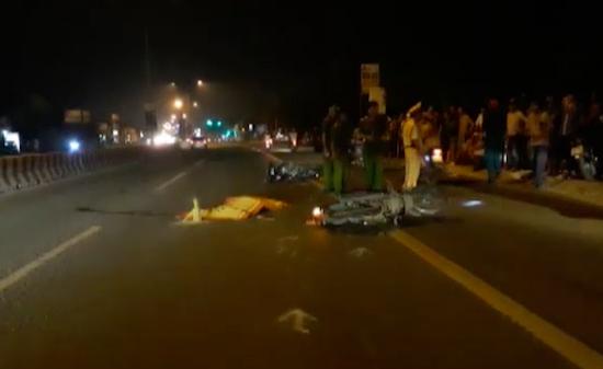 Tin TNGT mới nhất ngày 24/12: Tai nạn liên hoàn, 1 người tử vong 1