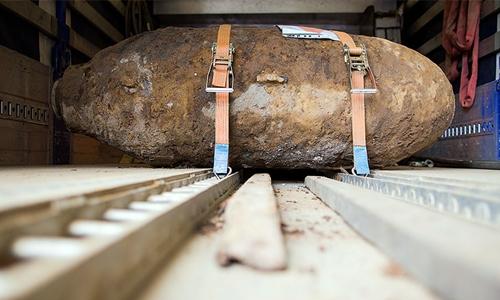 Đức sơ tán đêm Giáng sinh vì phát hiện bom 1,8 tấn 1