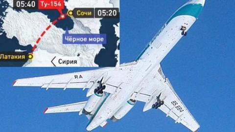 RBTH: Ba giả thuyết về nguyên nhân rơi máy bay Tu-154 của Nga 1