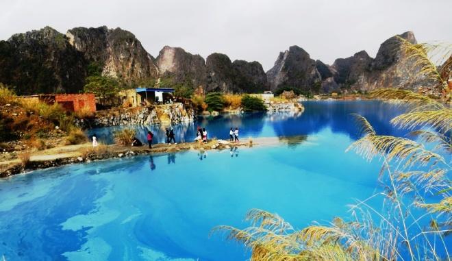 Hồ nước xanh đẹp như 'Tuyệt tình cốc' ở Hải Phòng 2