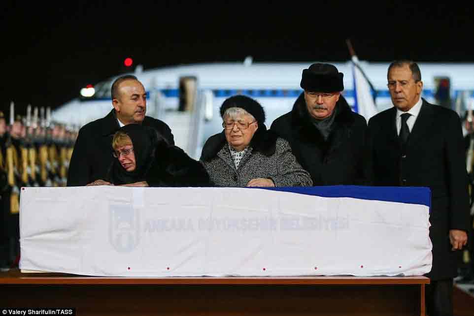 Thổ Nhĩ Kỳ cấm đưa tin vụ ám sát đại sứ Nga 1