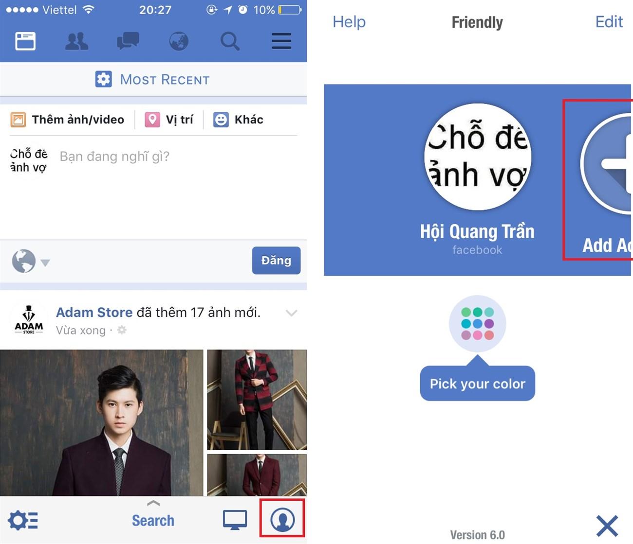 Thủ thuật nhỏ giúp bạn gộp Facebook và Messenger lại với nhau trên iPhone 6