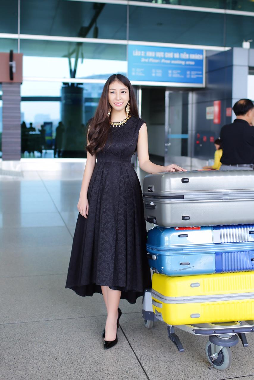 Ngọc Trân lên đường dự thi Miss city tourism 2016 1