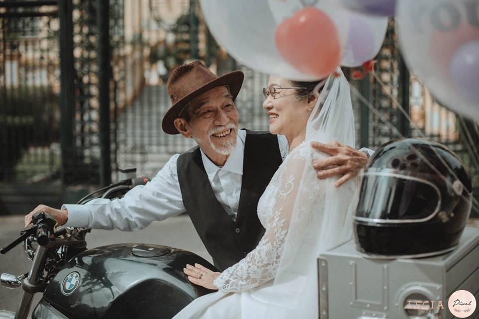 Bộ ảnh cưới bình dị thời