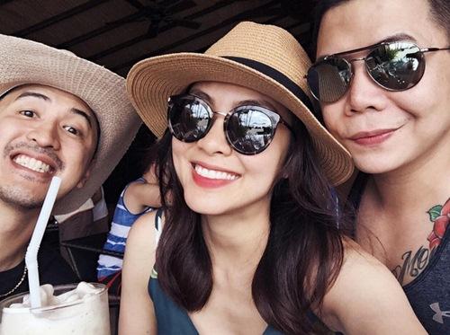 Hà Tăng cùng chồng đưa con trai đi du lịch Philippines 2
