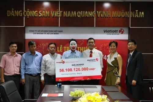 Lộ diện chủ nhân trúng giải Jackpot 160 tỷ đồng của Vietlott 1