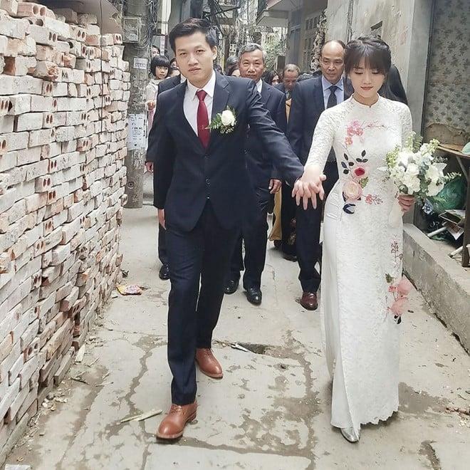 MC Trần Ngọc bất ngờ tổ chức lễ cưới với bạn gái hot girl 2