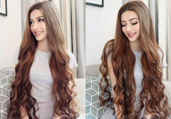 Nhan sắc xinh đẹp của 'công chúa tóc mây' gốc Việt gây 'sốt' dân mạng 2