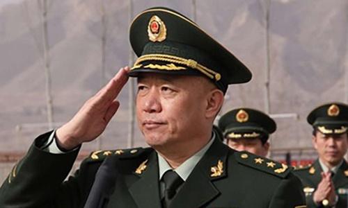 Thượng tướng Trung Quốc đầu tiên bị bắt vì tham nhũng 1