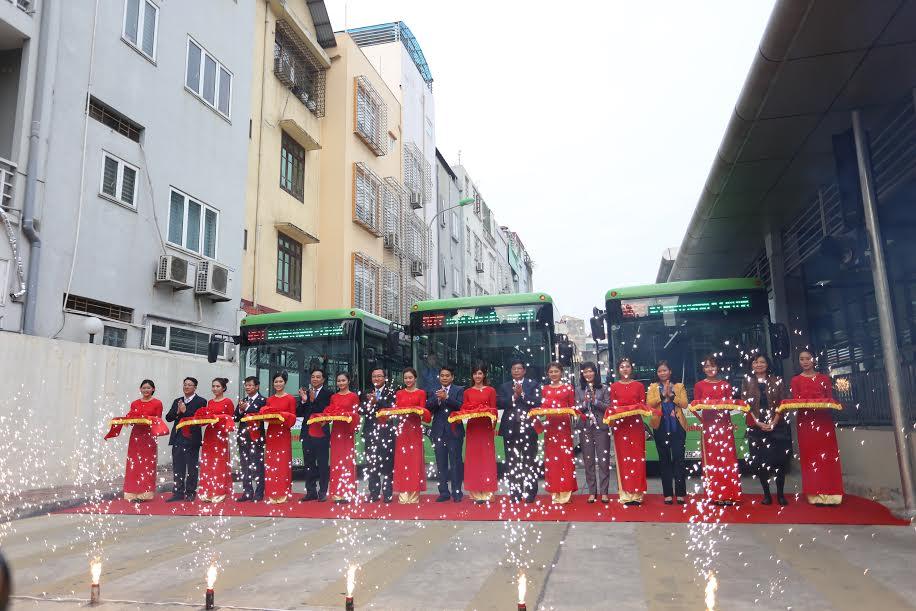 Buýt nhanh hơn 53 triệu USD chính thức đi vào hoạt động  1