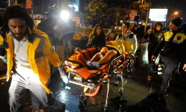 Xả súng trong hộp đêm ở Thỗ Nhĩ Kỳ đêm giao thừa, 35 người chết 3